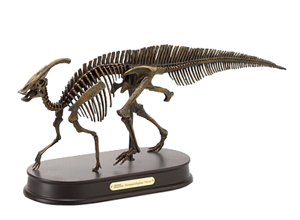 Parasaurolophus Skeleton Model
