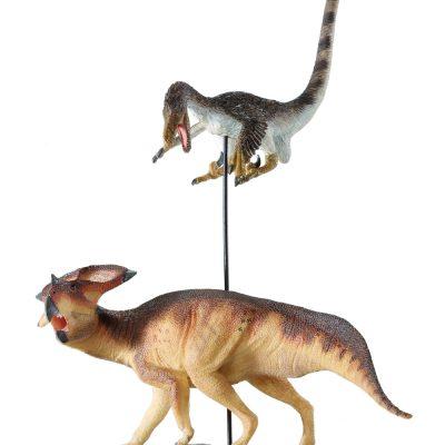 Velociraptor vs Protoceratops Finished Model