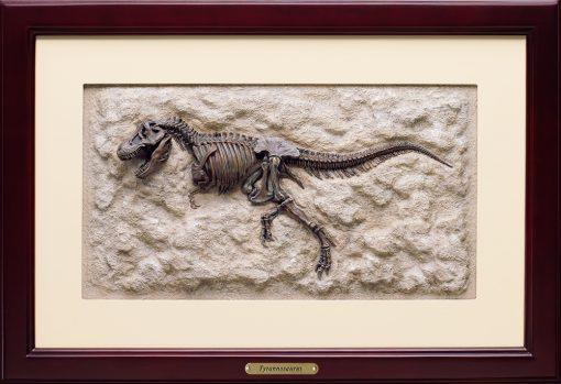 Tyrannosaurus 3D Framed Art