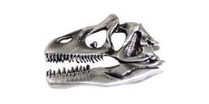 Allosaurus Skull Pewter Magnet
